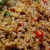 Теппаньяки рис с курицей Фото