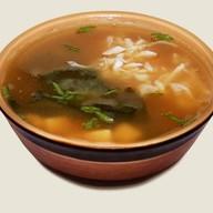 Мисо-суп с крабом Фото