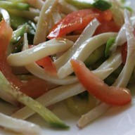 Салат из кальмаров Фото