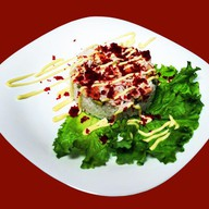 Ролл-салат Калифорния Фото