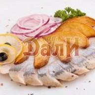 Сельдь с картофелем по-деревенски Фото