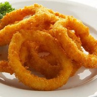 Кольца кальмара с фирменным соусом Фото
