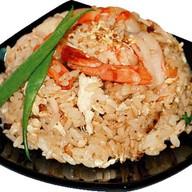 Рис с креветкой и овощами Фото