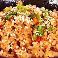 Рис с курицей Фото