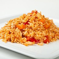 Острый рис по-сычуаньски Фото