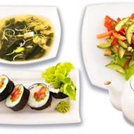 Бизнес-ланч Вегетарианский Фото