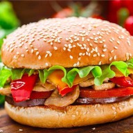Бургер чиз Фото
