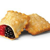 Пирожок малина-черника Фото