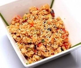 Рис со свининой - Фото