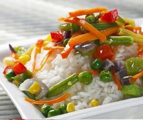 Рис с овощами - Фото