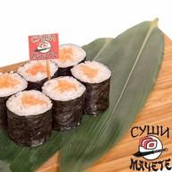 Ролл с лососем и сливочный сыром Фото