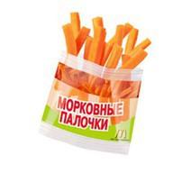 Морковные палочки Фото