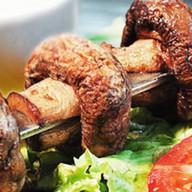 Шашлык из грибов Фото
