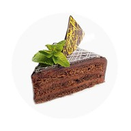 Торт шоколадный Фото