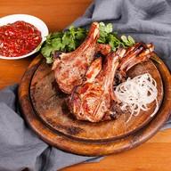 Шашлык из телячьей корейки Фото