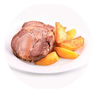 Свинина парная с картофелем Фото
