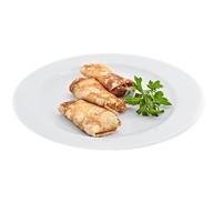 Блинчики с курицей и сливочным сыром Фото