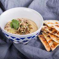 Хумус с грибным фаршем Фото