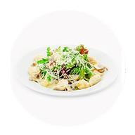 Салат с куриным филе с фруктовой ноткой Фото