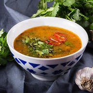 Восточный суп с машем (машхурда) Фото