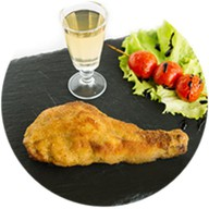 Фаршированная куриная ножка Фото