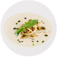 Крем-суп из цветной капусты Фото