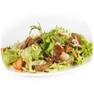 Салат с имбирной свининой Фото
