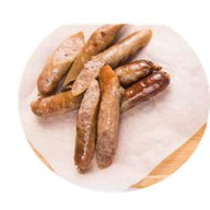 Баварские колбаски с картофелем Фото