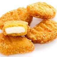 Куриные наггетсы с дуэтом соусов Фото