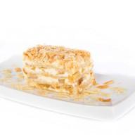 Торт Наполеон  с сочной грушей Фото