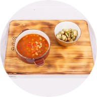 Неаполитанский густой суп с ветчиной Фото