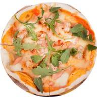 Пицца с ароматными креветками Фото