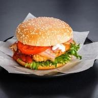 Фермерский чикенбургер Фото