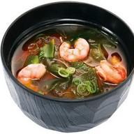 Мисо-суп с креветками Фото