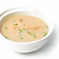 Суп-пюре с лососем Фото