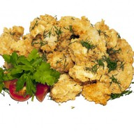 Филе куриное в кляре с соусом Тар-Тар Фото