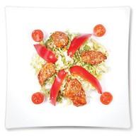 Салат с обжаренной курин. грудкой Фото