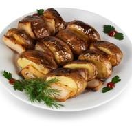 Картофель на вертеле Фото