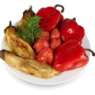 Овощи на вертеле Фото