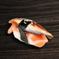 Суши нигири унаги сяке Фото