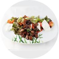 Теплый картофельный салат Фото