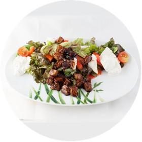 Теплый картофельный салат - Фото