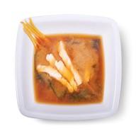 Мисо суп лосось Фото