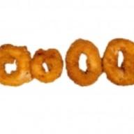 Кольца кальмара с сырным соусом Фото