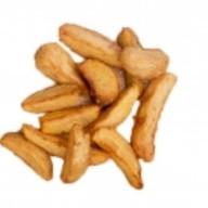 Картофель по-деревенски с сырным соусом Фото