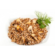 Каша гречневая с грибами Фото