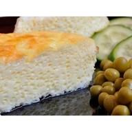 Омлет с сыром и зеленым горошком Фото