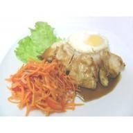 Пибимпап с куриным филе Фото