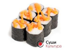Ролл спайси лосось - Фото