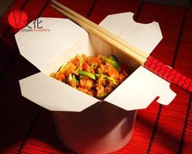 Рис с овощами и грибами - Фото
